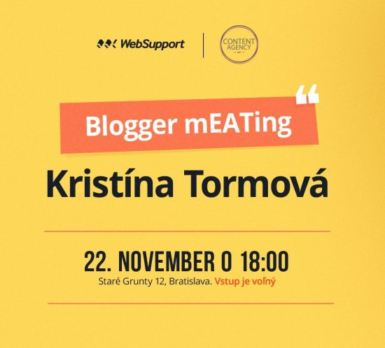Blogger meetup - talk with jana malaga and Kristina Tormova made by Content agency