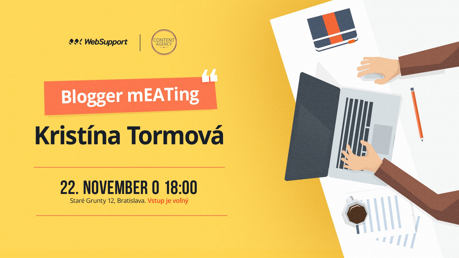 blogger meetup by content agency