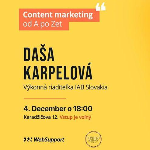 kurz online reklama Content agency